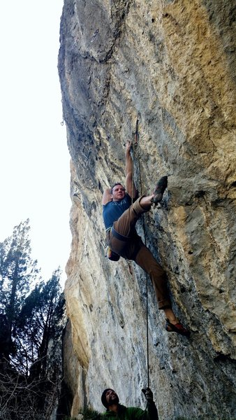 Rock Climbing Photo: The rose move!