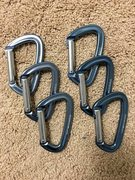Rock Climbing Photo: Black Diamond Positron Carabiners (6) $25