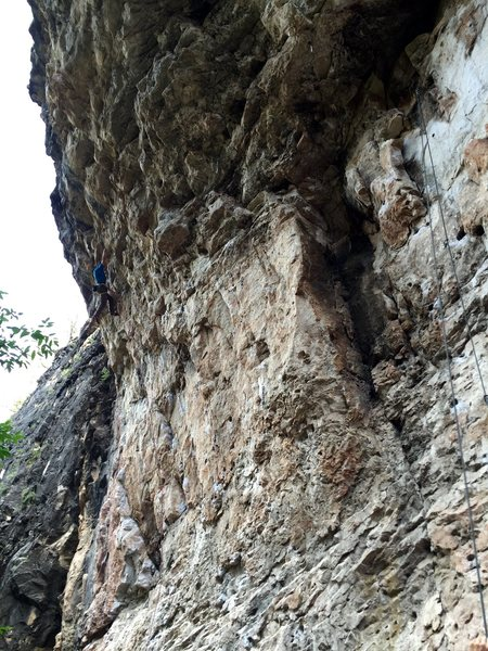Me on Bucket Head, crazy fun route