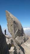 Rock Climbing Photo: Sang-e-samavar
