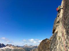 Rock Climbing Photo: The Bear Hug pitch