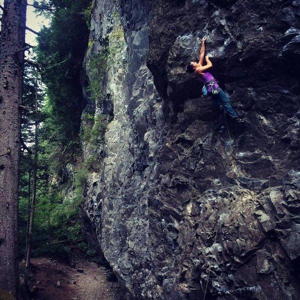 Rock Climbing Photo: exit 38