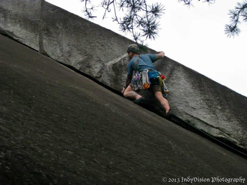 Rock Climbing Photo: Stone Mountain NC