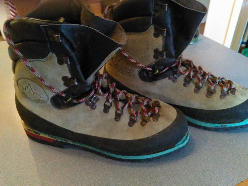 Rock Climbing Photo: Boots!