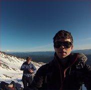 Rock Climbing Photo: Me & a couple friends on St. Helens, Jan 2015