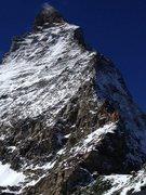Rock Climbing Photo: Hornli Ridge