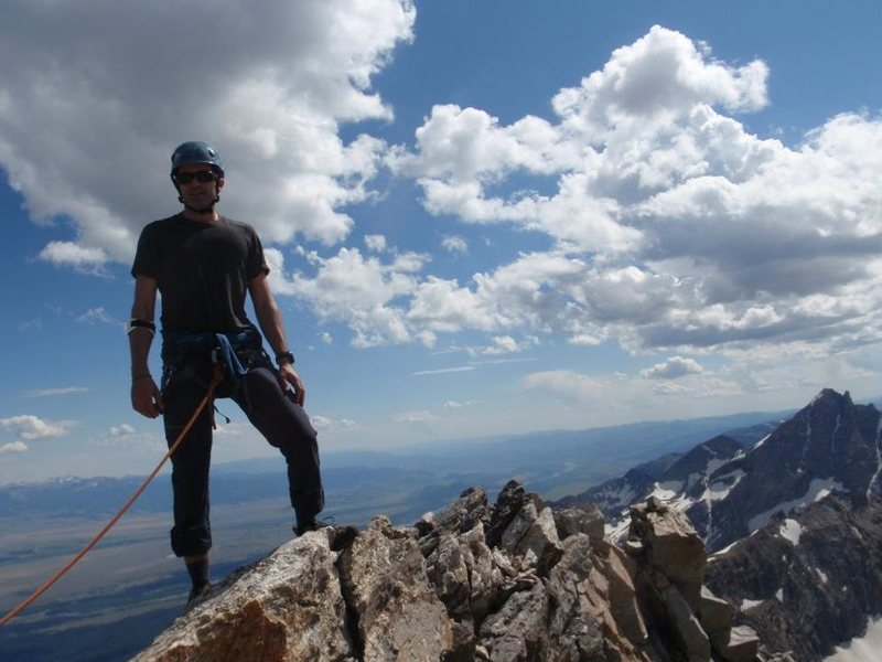 Rock Climbing Photo: summit #10 Nez Perce