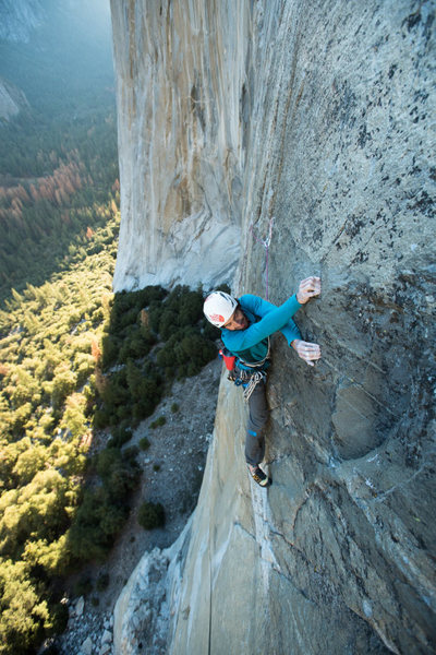 This is my first experience of climbing in Yosemite National Park and its superb.