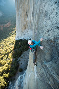 Rock Climbing Photo: This is my first experience of climbing in Yosemit...