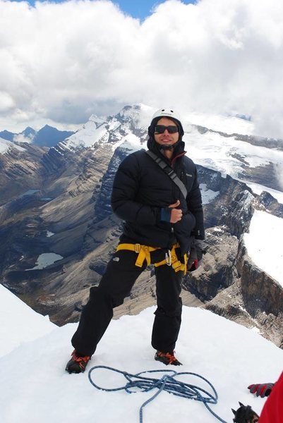 Rock Climbing Photo: ice climbing colombia