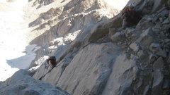 Rock Climbing Photo: 2 pitches before Sang-e-samavar