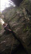 Rock Climbing Photo: screen shot from the FA