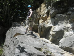 Rock Climbing Photo: Warstein