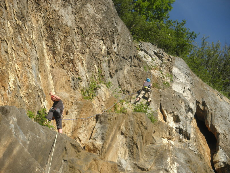 Rock Climbing Photo: with Berry in Warstein