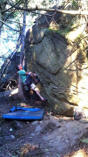 Rock Climbing Photo: Fire Up