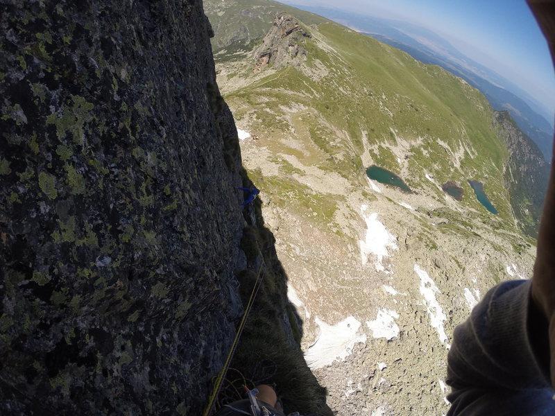 Rock Climbing Photo: Malyovitsa north face