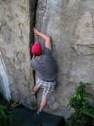Rock Climbing Photo: Attacking Crack Attack.