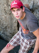 Rock Climbing Photo: In Mwanza, sometimes the crack attacks you...