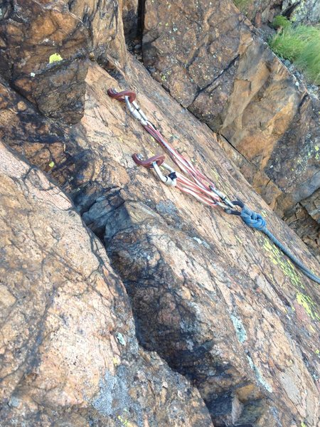 The anchor.