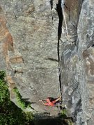 Rock Climbing Photo: Buffalo Bob... great crack climb
