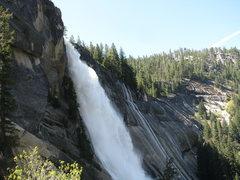 Rock Climbing Photo: Vernal falls