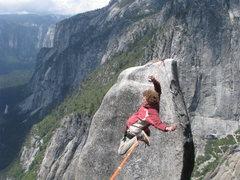 Rock Climbing Photo: Skechy Andy in Matrix Mode