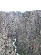 Rock Climbing Photo: Black canyon of the Gunnison