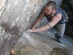 Rock Climbing Photo: a 5.7 at Sam's Throne