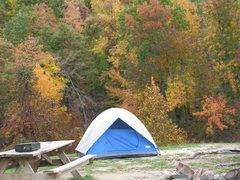 Rock Climbing Photo: The campground at horse shoe canyon ranch
