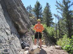 Rock Climbing Photo: Hoback Canyon