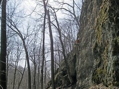 Rock Climbing Photo: Mild Iowa wall in the spring