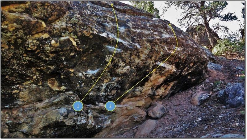 Rock Climbing Photo: 2. Uffda.