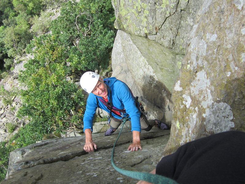 Alan Hinkes    Shepard's crag