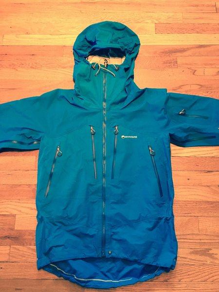 Montane Alpine Endurance Waterproof Jacket.
