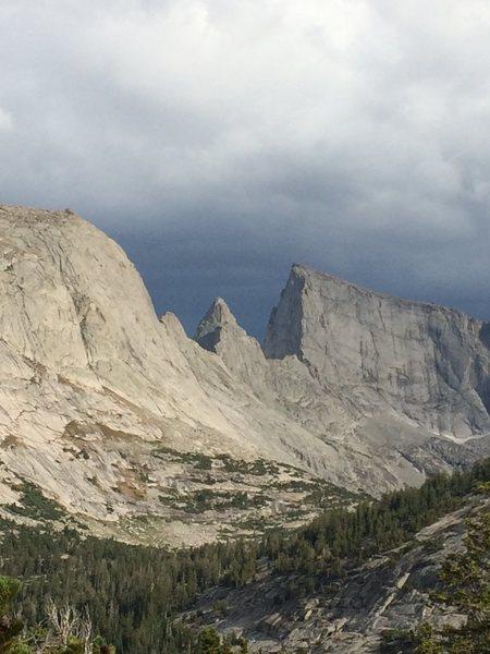 Rock Climbing Photo: First time climbing in the Deep Lake Area.  Climbe...