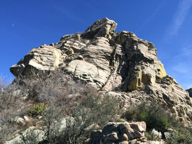Rock Climbing Photo: The north face of Low Horn #1. Any number of 3rd/4...