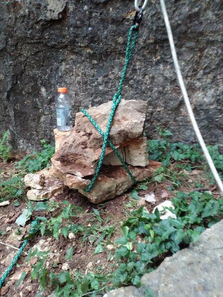 Rock Climbing Photo: Test weights.