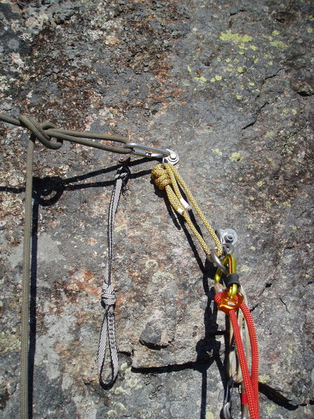 "Rock Climbing Photo: New anchor found at ""Lead Poisoning"" bel..."
