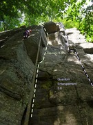 Rock Climbing Photo: Gemini and routes to the right
