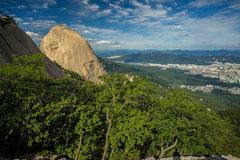 Rock Climbing Photo: Southish face of insubong.