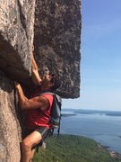 Rock Climbing Photo: Acadia National Park August 2016. This is a posed ...