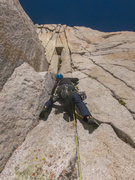 Rock Climbing Photo: RShore starting P3