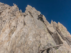 Rock Climbing Photo: RShore on P5
