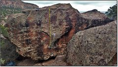 Rock Climbing Photo: The Overview Effect.