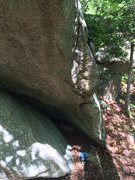 Rock Climbing Photo: Start holds of The Prow.