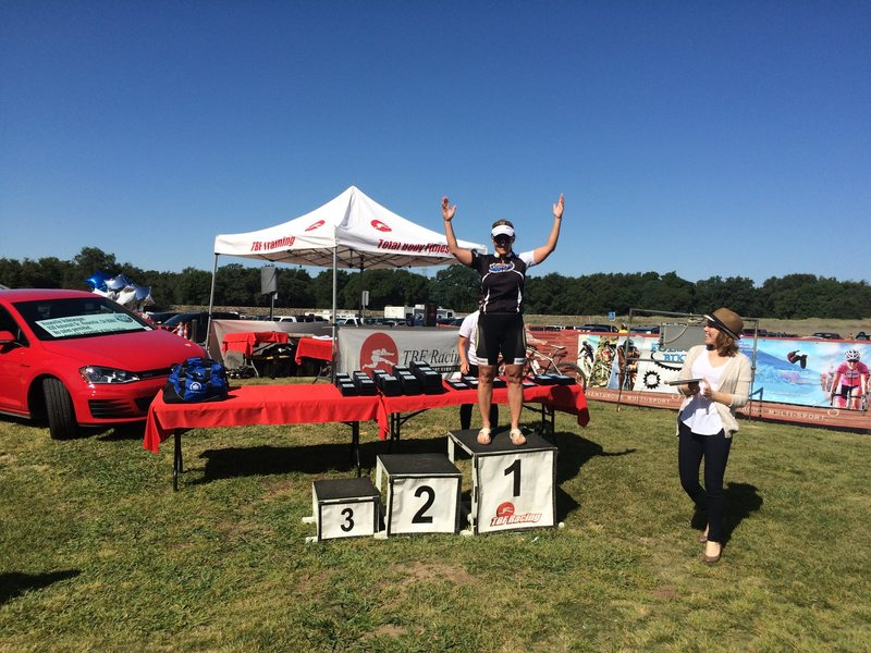 Rock Climbing Photo: Ist place Duathlon- Age group/5th overall
