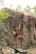 Rock Climbing Photo: FA of Get Punk'd