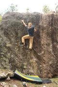 Rock Climbing Photo: Alex Stoffel Sending! Dual FA