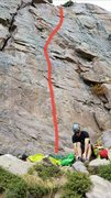 Rock Climbing Photo: Here is the line