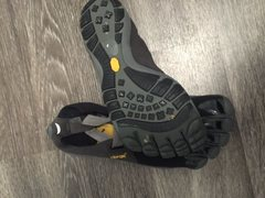 Rock Climbing Photo: Vibram five finger , do not remember the size in t...
